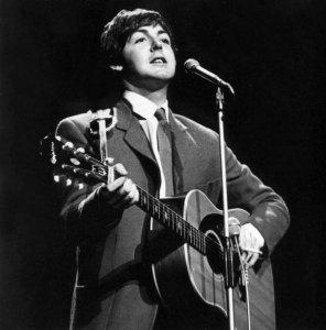 Paul and Signature 1964 Epiphone Texan (serial No. 002)