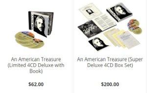 28 сентября выходит бокс-сет American Treasure