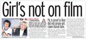 Не виновен. Не было ничего и тому есть доказательства. Daily Mirror сегодня.