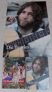 Книга Битлз в Индии вышла в Германии в 2005. В комплект помимо собственно книги входят футляр и постер.