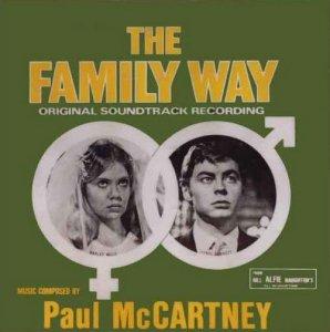 Первым среди битлов сольным альбомом обзавелся, как ни странно, Пол Маккартни. The Family Way – саундтрек к одноименному фильму, выпущенный 6 января 1967 года. Сам фильм вышел в 1966 году, его режиссером был Рой Болтинг, в главной роли Хэйли Миллс. Альбом выпущен под названием The George Martin Orchestra, The Family Way (Original Motion Picture Soundtrack).