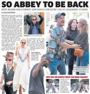 На концерте в студии Abbey Road Пол Маккартни исполнил 4 новые песни (23.07.2018)