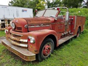 '68 #Seagrave Fire Truck как в клипе Мув пожарна команда...