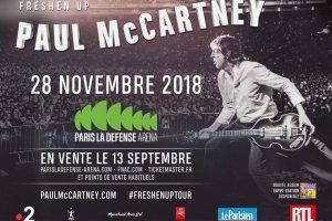 Freshen Up Tour, La Défense Arena электронная афиша