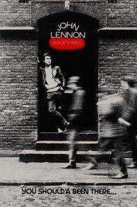 * John Lennon RockNRoll Promotional Poster (1975).