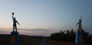 Закат в Севериновке
