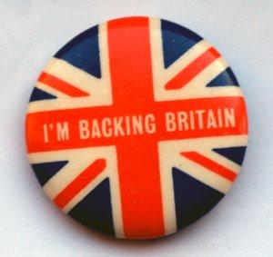 В начале 1968 года на фоне экономических трудностей, возникших в Великобритании, в стране была инспирирована патриотическая кампания «I'm Backing Britain» (в данном случае можно перевести как «Я поддерживаю Британию»), которая была одобрена премьер-министром Гарольдом Уилсоном. Она и была нацелена на то, чтобы поднять британскую экономику. Был даже выпущен сингл с возвышенно-патриотической песней:
