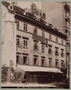Любимый ресторан Брамса в Вене «Красный ёж».