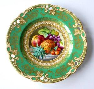 Ridgway супер тарелочка 1820 -30е годы