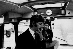 11 сентября 1967: Первый день съёмок фильма: Magical Mystery Tour