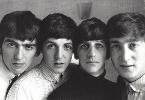 Британская рок-группа «Битлз» в отеле «Президент», Рассел-сквер в Лондоне, 12 сентября 1963 года