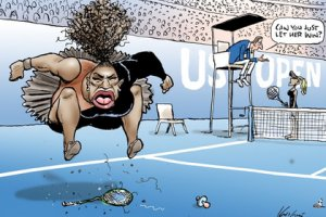 Карикатура в The Herald Sun...