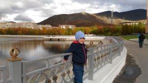 Осенний внук :))