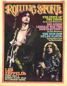 ♫ Yesterday's Papers ♫ Rolling Stone no. 182, March 1975 1