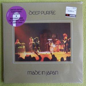 7 сентября выпущены на тёмно-лиловом виниле 3 концертных и 5 номерных альбомов Deep Purple 70-х г.