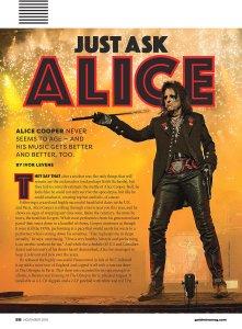 Элис Купер (Alice Cooper) - кто это, злодей или гений?