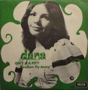 Победительница Евровидения 1970 года и будущий член европарламента (1999- 2004) Dana Rosemary Scallon и её кавер 1971 года на песню Дж. Харрисона Isn't it a Pity