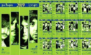 Вышел в свет очередной настенный Битлз-календарь.