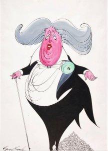 Джеральд Скарф (Gerald Scarfe) Британский художник, иллюстратор, политический карикатурист со своим отчетливым и очень своеобразным саркастическим стилем - чаще всего на грани или просто черным. Оформитель работ Pink Floyd (The Wall) и сольных работ участников группы, а также Алана Прайса.