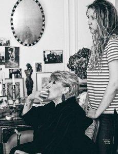 Marianne Faithfull - профессор поэтики Академии Алена Гинзберга