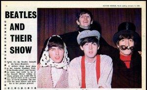 Из газеты RECORD MIRROR за 11 января 1964.