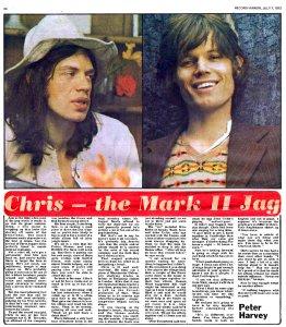 Record Mirror 7 July 1973