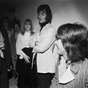 Ланч пати и показ моделей в компании Apple Boutique 5 декабря 1967