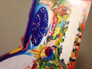 У меня эта фотка на развороте бутлега 'Special collectors edition' Сержанта Пеппера. Белое пятно в нижнем правом углу, наверно, предназначалась для трек-листа!