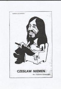 Świetna karykatura Niemena.