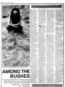 Record Mirror 6 September 1980