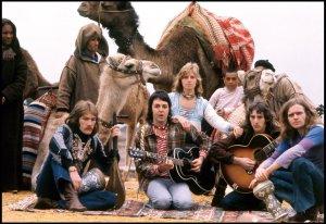Wings в Марокко, февраль 1973.  Фото из твиттера Пола.