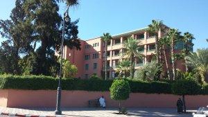 Отель Мамуния/ Марракеш, Марокко. Тут он и останавливался. Мне было жаль 500 долларов за сутки, просто зашел посмотреть.