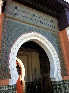 Да,вся группа и семья Пола остановились в La Mamounia Hotel