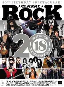 Classic Rock UK January 2019. 124 стр., 38 Мб, True PDF
