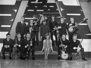 Бирмингем, 15 декабря 1963 года. на сьёмках программы Thank Your Lucky Star