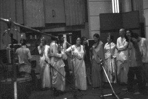 The New York Times в 2006 году назвала его первым в истории «поп-альбомом санскритских мантр».[1] Диск был спродюсирован Джорджем Харрисоном,[2] также сыгравшим на фисгармонии и гитаре.[3] Аранжировщиком всех композиций был Мукунда Госвами. Две композиции с альбома вышли отдельными синглами: «Hare Krishna Mantra» (1969) и «Govinda» (1970). Сингл «Hare Krishna Mantra» поднялся до 12-й позиции в UK Singles Chart, до 3-го места в чарте Германии, до 1-го в Чехословакии, а также попал в десятку хит-парадов ряда других европейских стран и Японии. Сингл «Govinda» достиг 23-го места в UK Singles Chart.