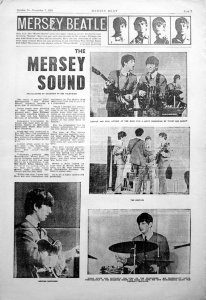 1963.08.27- Southport. Little Theatre. Filming BBC-TV show The Mersey Sound