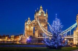 Рождество в Лондоне.