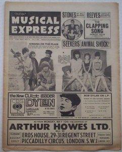 NEW MUSICAL EXPRESS  7 мая 1965