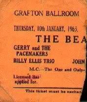 10 января 1963: Концерт Битлз: Grafton Rooms, Ливерпуль