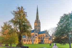 Autumnal Salisbury Cathedral by Gerry Lynch