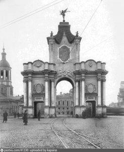 Красные ворота, 1920 год.