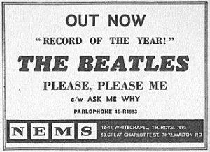 11 января 1963 Релиз сингла в Британии: Please Please Me