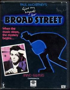 11 января 1985 Лондонская премьера фильма Пола Маккартни Give My Regards To Broad Street.