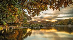 Coniston Water, Cumbria by Charles Fairfax Murray