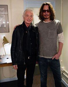 Jimmy Page paid tribute to Chris Cornell