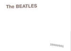 Наверно, вот ответ из Википедии: Обложки оригинального тиража на виниле, выпущенного в 1968 году, имели тиснёное название группы. Также они были пронумерованы.