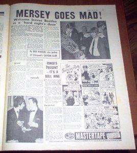 Из газеты Disc за 18 июля 1964