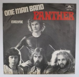 Pantherman  https://www.discogs.com/Panther-One-Man-Band-Evelyne/release/6051235