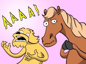 A Pony & Dog Show
